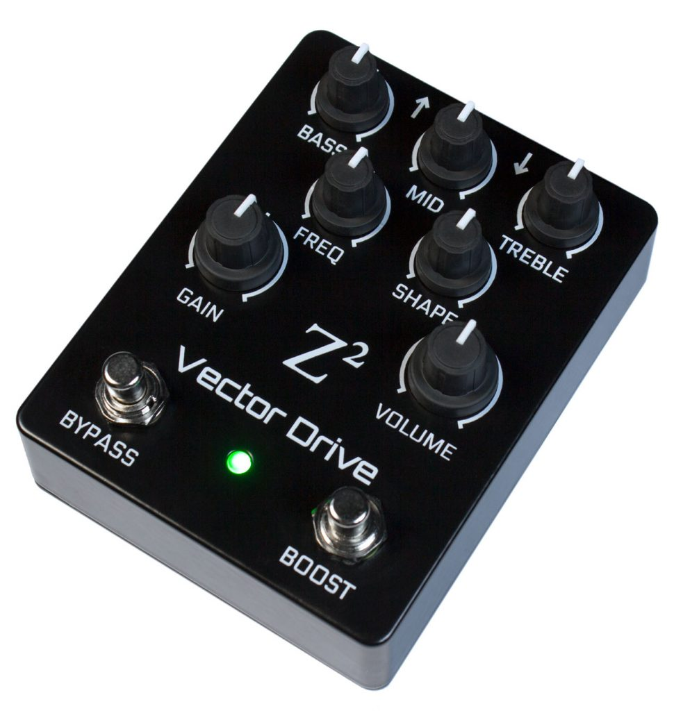 Vector Drive. Overdrive, Distortion and Fuzz in one effects pedal.